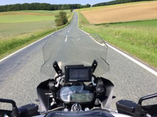"""Mensch und Motorrad """"warm"""" fahren"""